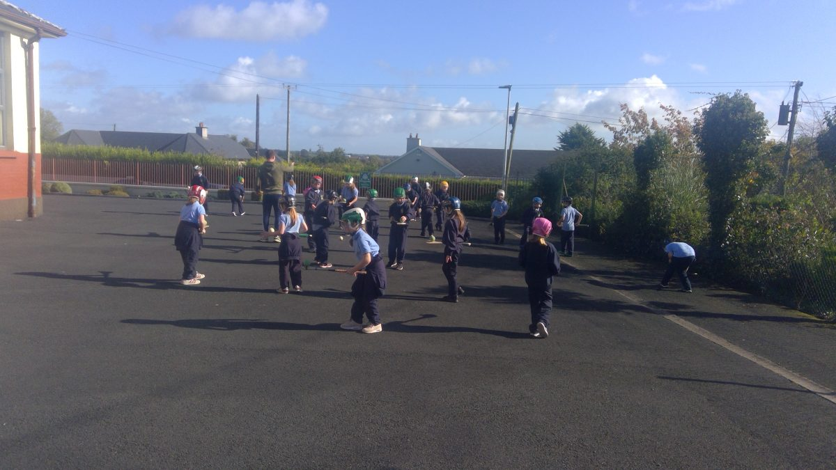 Lunchtime Hurling